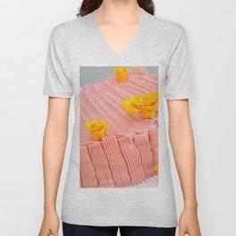 Strawberry Unisex V-Neck