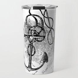 Anchor and harpoon. Travel Mug