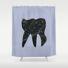 Cosmic Tooth Shower Curtain