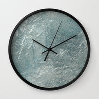 frozen Wall Clocks featuring Frozen by LLL Creations