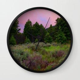 Sage Cirrcus Wall Clock