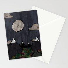 Moon Mountsins Stationery Cards