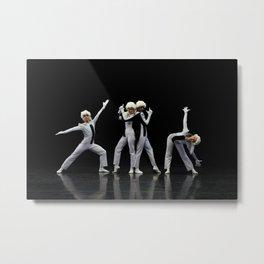 Ballet N7 Metal Print