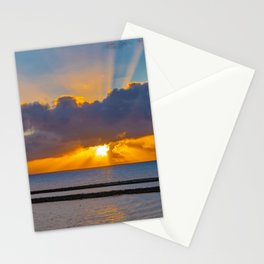 Sunset Sun Rays Stationery Cards