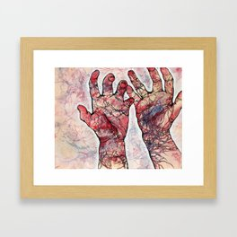 Impulses Framed Art Print