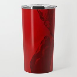 Red Lady  Travel Mug