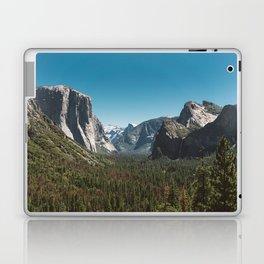 Tunnel View, Yosemite National Park V Laptop & iPad Skin