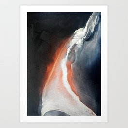 Electric Arches Art Print