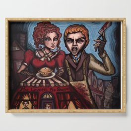 """Sweeney Todd"" Serving Tray"