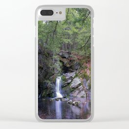 Purgatory Falls NH in May Clear iPhone Case