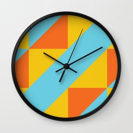 Andean Encounters Wall Clock