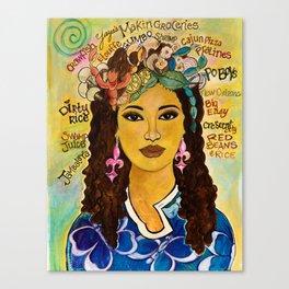 YaYa Canvas Print
