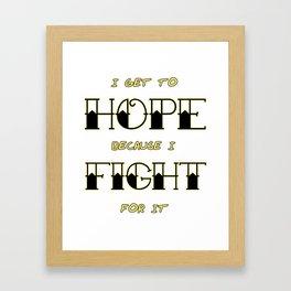 Wendy Watson ~ HOPE Framed Art Print