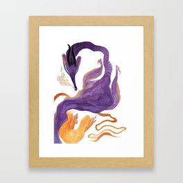 Scalies 01 Framed Art Print