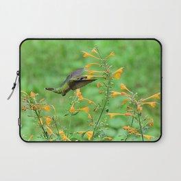 Hovering hummingbird and orange agastache 57 Laptop Sleeve