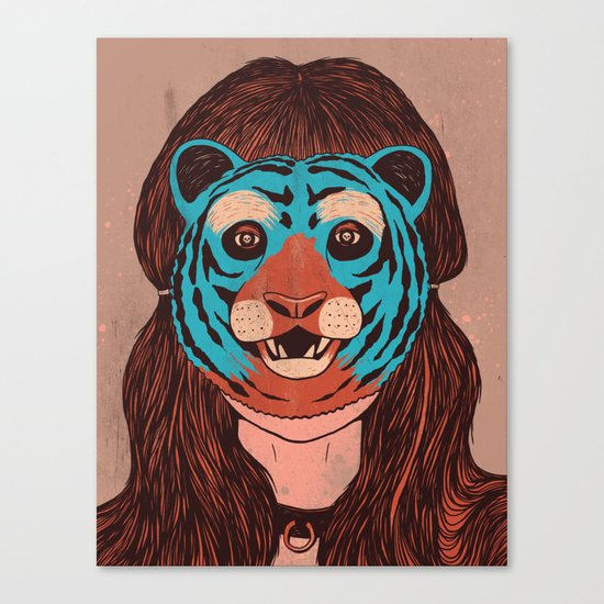 Tiger Face Canvas Print
