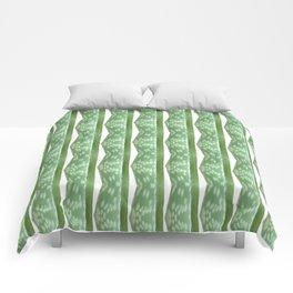 Aloe Stripe Comforters