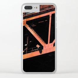 Crosshairs - Golden Gate Bridge San Francisco Clear iPhone Case