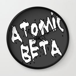 Atomic Beta Wall Clock