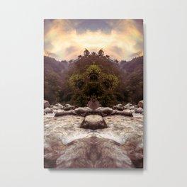 Kaleidoscape: Xela Metal Print