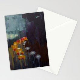 Fall Rain Stationery Cards