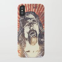 the big lebowski iPhone & iPod Cases featuring Big Lebowski by Tommy Lennartsson