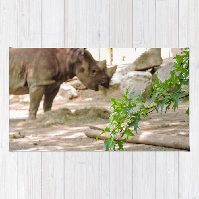 Rhino Munchies Rug