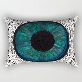 Eye of Cecile  Rectangular Pillow