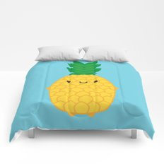 Kawaii Pineapple Comforters