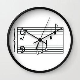 Rowing & Music1 Wall Clock