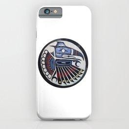 American Native Pattern No. 305 iPhone Case