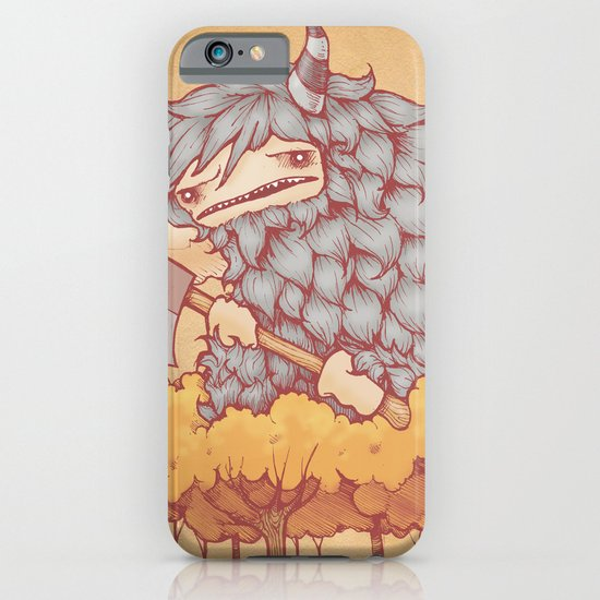 巨大的柴夫 (Great Firewood Husband) iPhone & iPod Case