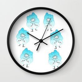 Clyde the Cloudpoof Wall Clock