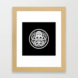 Cthulhu Symbol Framed Art Print