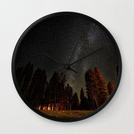 Under The Stars Wall Clock