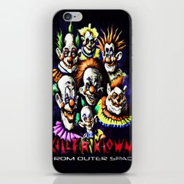 Clowns From Space iPhone Skin