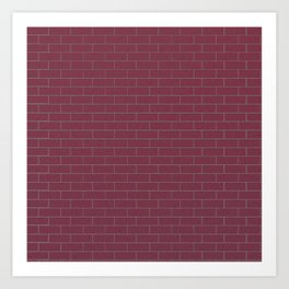 Plum Wall Art Print