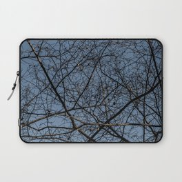 Treetop branches and leaves texture Laptop Sleeve