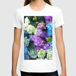 Colorful Flowering Bush T-shirt