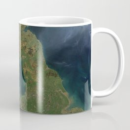 Nearly cloud-free view of Great Britain and Ireland was acquired by the Moderate Resolution Imaging Coffee Mug