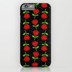 Rose Outline | Floral iPhone 6s Slim Case