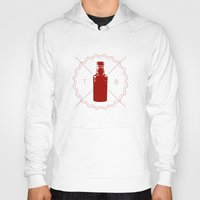 true blood Hoodies featuring Badge inspired by True Blood by Purshue feat Sci Fi Dude