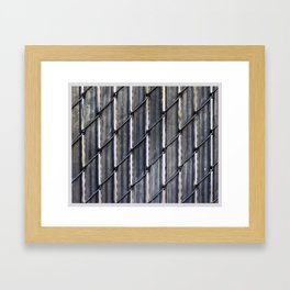 Color Theory, Gray Framed Art Print