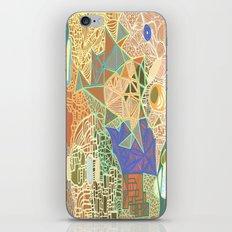 Sky Map iPhone & iPod Skin