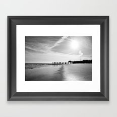 The End of the World Framed Art Print
