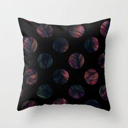 Circles - Half The World Throw Pillow