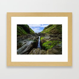 Devil's Churn Framed Art Print