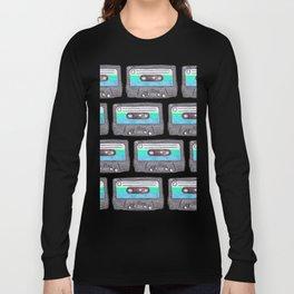 Cassette Patten *Light Blue Long Sleeve T-shirt