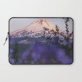 Mt Hood Wildflowers Laptop Sleeve
