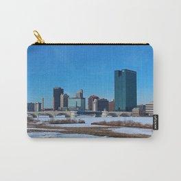 Toledo Skyline in Winter II Carry-All Pouch